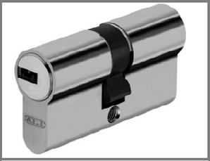 Цилиндр дверной ABUS D6 ключ-ключ никель