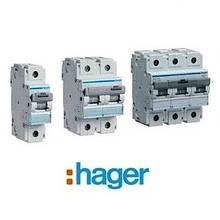 Автоматичні вимикачі Hager HLF 80-125А, 10 кА, хар-ка З
