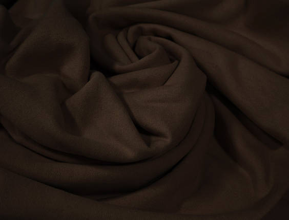 Футер двунитка с начесом шоколад (220см, Турция), фото 2