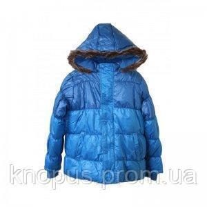 Куртка для мальчика  синяя , еврозима, Minoti, Англия