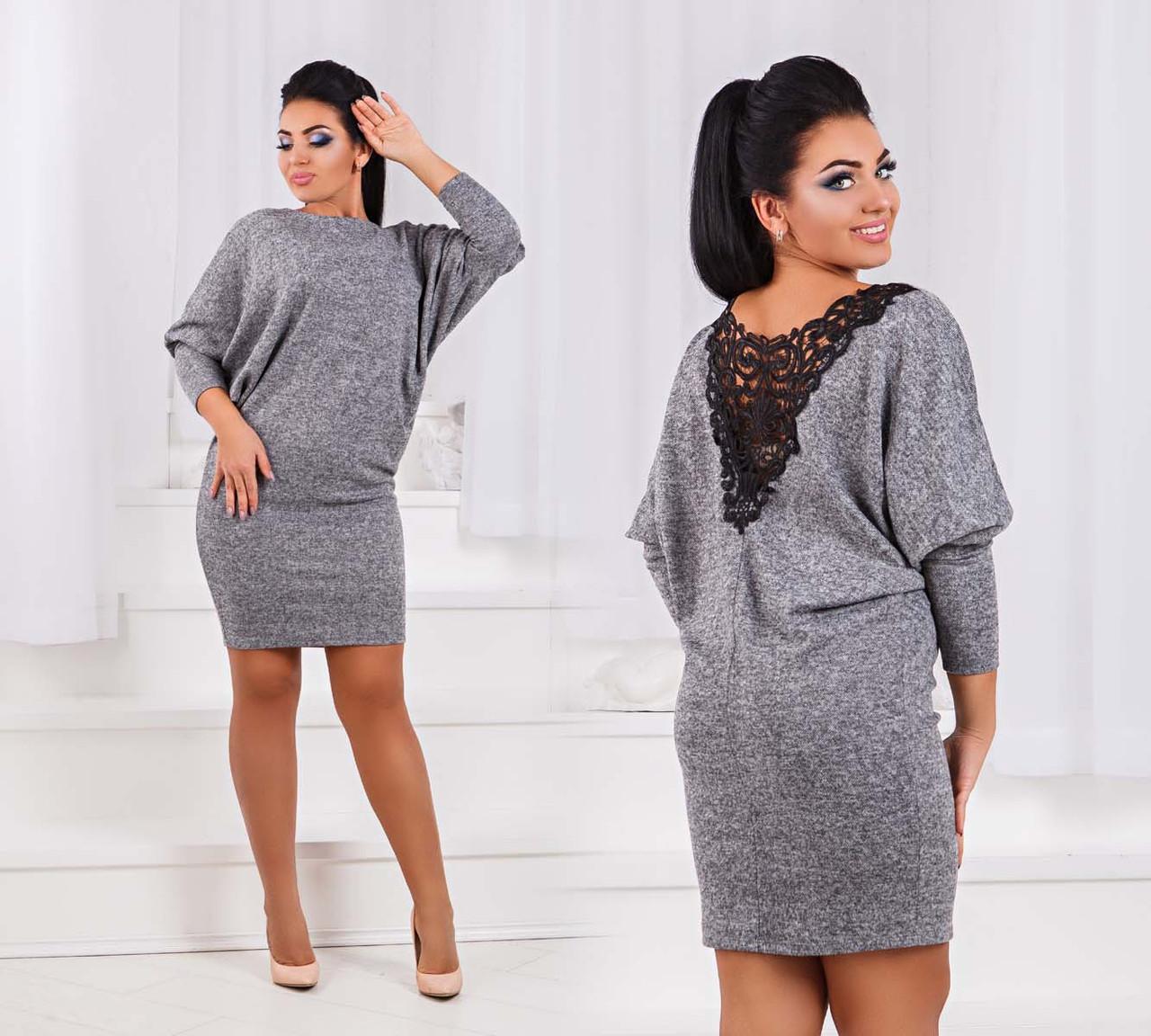 16065252c0b Супер Цена Стильное женское платье-туника в больших размерах 1542