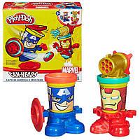 Набор для творчества с пластилином Play-Doh «Герои Марвел» B0594 Hasbro (в ассортименте)