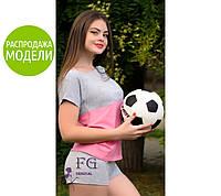 "Костюм летний из трикотажа ""Sport line"" -распродажа модели"