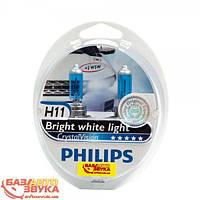 Philips H11 CrystalVision 12V 12362CVSM (2шт.)