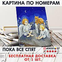 "Картина по номерам ""Пока все спят"" 40х50 см"