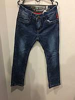 Подростковые джинсы на флисе для мальчика