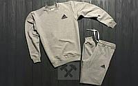 Спортивный костюм мужской Adidas, белый адидас