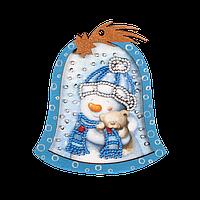 Елочная игрушка для вышивания бисером FLE-003