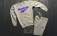 Спортивный костюм Reebok, синий принт