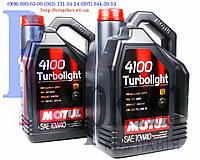 Масло двигателя MOTUL 10W40, 4100 Turbolight, 5L