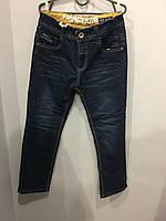 Подростковые утепленные джинсы для мальчика