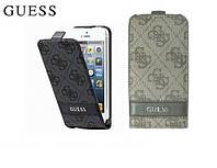 Чехол для iPhone 4/4S - GUESS 4G flip case