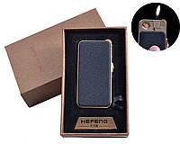 Usb зажигалка у подарочной упаковке (спираль накаливания, нормальное пламя)