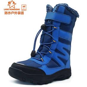 Детские спортивные ботинки липучка, шнуровка, фото 2