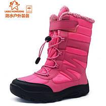 Детские спортивные ботинки липучка, шнуровка, фото 3