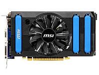 Видеокарта MSI PCI-Ex GeForce GTX 650 1024MB GDDR5 (128bit) (1124/5000) (2xDVI, 1xminiHDMI) OEM (б/у)