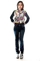 Модные женские джинсы. Артикул: J13