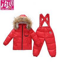 Детский зимний костюм с кармашком на груди, фото 2