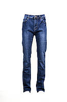 Молодежные женские джинсы. Артикул: W0754C. Цвет: Синий