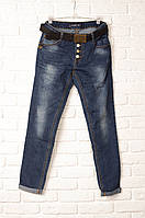 Модные джинсы бойфренд женские. Артикул: W0704A