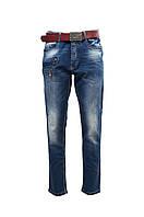 Классные джинсы бойфренд женские. Артикул: 17017-B