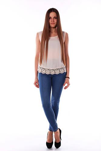 44e40ff7fa4 Светлые джинсы с высокой талией