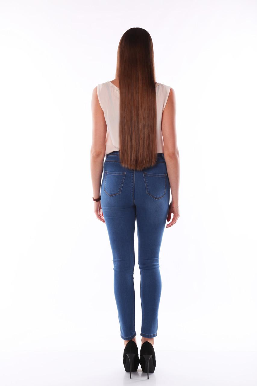 e0a8697a854 Светлые джинсы с высокой талией