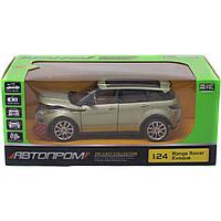 Машинка 68244A Range Rover Evoque со свето-звуковыми эффектами