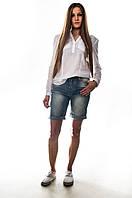 """Стильные женские бриджи """"Cudi Jeans"""". Артикул: SH9354"""