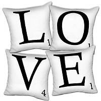 Подушки декоративные - коллекция «LOVE» (72 штуки)