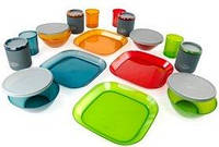 Набор посуды GSI Outdoors Infinity 4 Person Deluxe Tableset