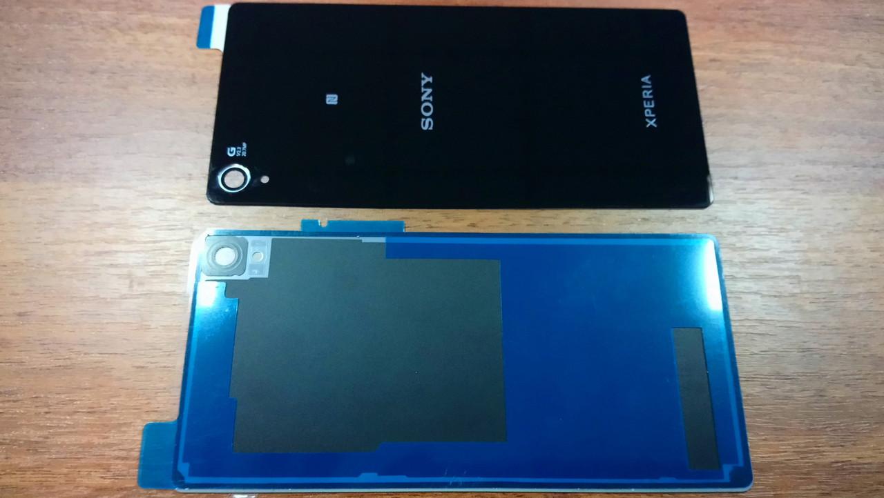 Задняя крышка Sony D6603 Sony D6633 Sony D6653 Xperia Z3 черная
