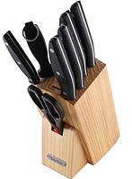 Набор кухонных ножей Fissman Festival 7 ножей на подставке
