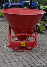 Тракторный разбрасыватель мин удобрений Jar-met 500кг( метал ), фото 2