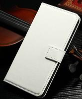 Кожаный чехол книжка для LG Optimus G2 D802 белый