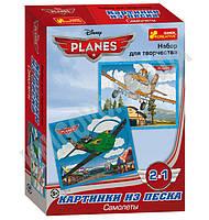 Набор для творчества Картинки из песка Самолёты Disney 5+ Код: 13153006Р Изд: Ранок