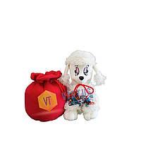 Новогодняя мягкая игрушка с конфетами 2018 Пудель Марти 400 г
