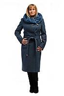 Пальто женское зимнее ARIANDA (цвет джинса) код: AR00005