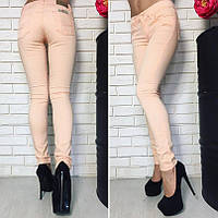 Женские джинсы стрейч цветные Турция БАТАЛ, фото 1