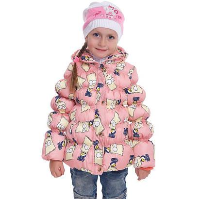 """Куртка детская """"Симпсоны"""" Fashion 1810-1"""