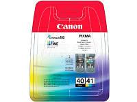 Картридж CANON (PG-40/CL-41) PIXMA iP1600/2200/MP150/170/450 MultiPack (0615B043)