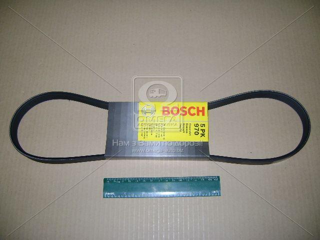 Ремень генератора ручейковый 5PK970 Bosch 1.5 Daewoo Lanos Деу Део Ланос