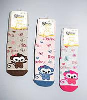 Махровые носочки детские с тормозами TM BROSS р.5-7 (29-30 см)