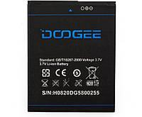 Аккумулятор  для DOOGEE DG580 Kissme B-DG580 2500mAh 3,7V
