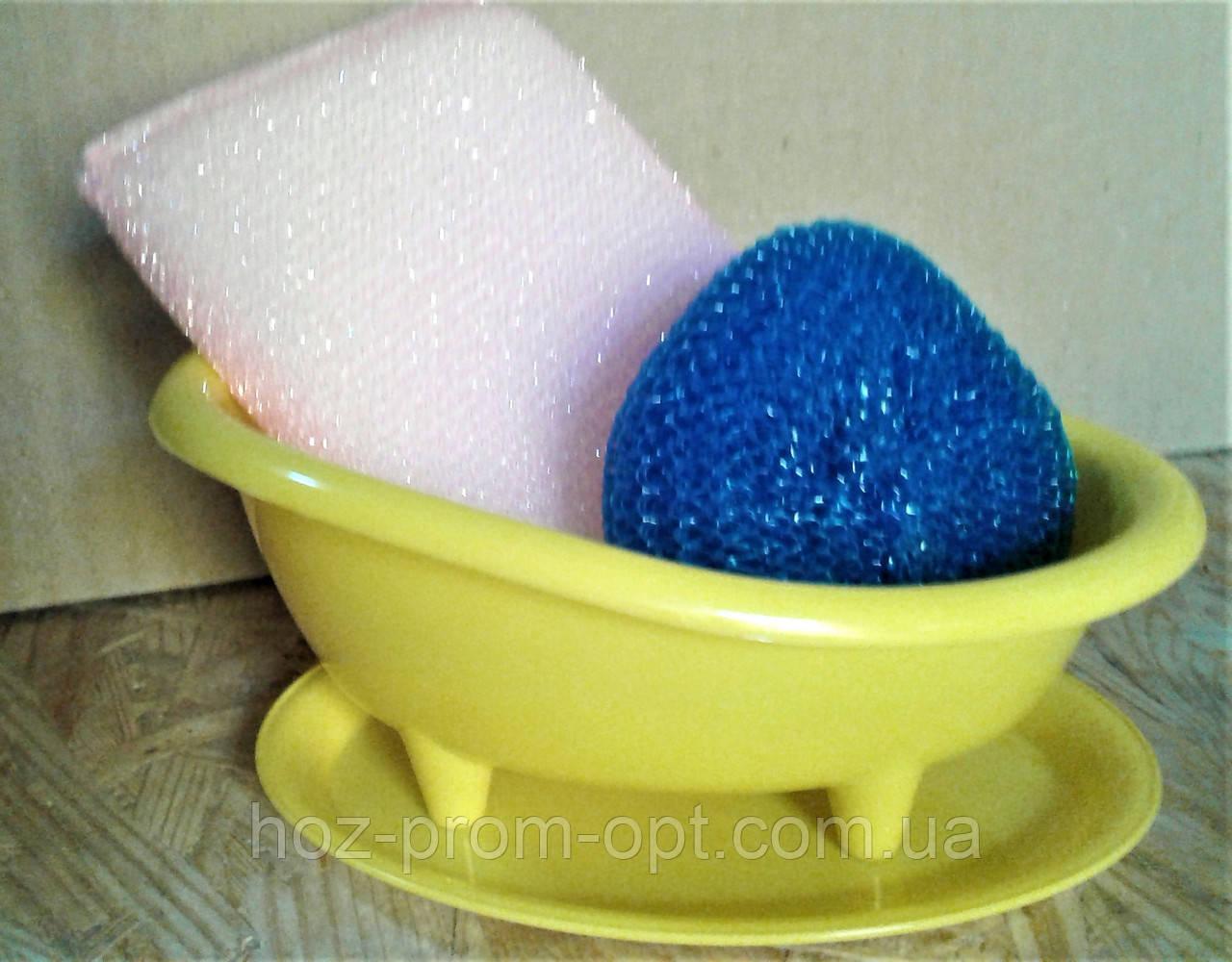 Ванночка (подставка) для губок пластиковая.