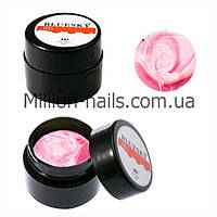 Bluesky, гель-паста 5d 8ml (с липким слоем),цвет бледно-розовый, №12