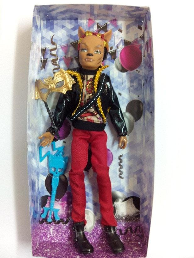 Monster High Клод Вульф