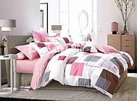 """Комплект постельного белья двуспальный ТМ """"Ловец снов"""", Счастье в квадрате"""