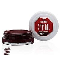Воск для обуви Columbus Crystal Wax&Cream 35ml Bordeaux