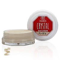 Воск для обуви Columbus Crystal Wax&Cream 35ml Beige